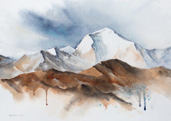 Img 1517 Dhaulagiri By Anastasia Mily 35x25