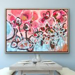 Love Story – Large Abstract Flowers
