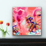 Love Heart – Abstract Flowers