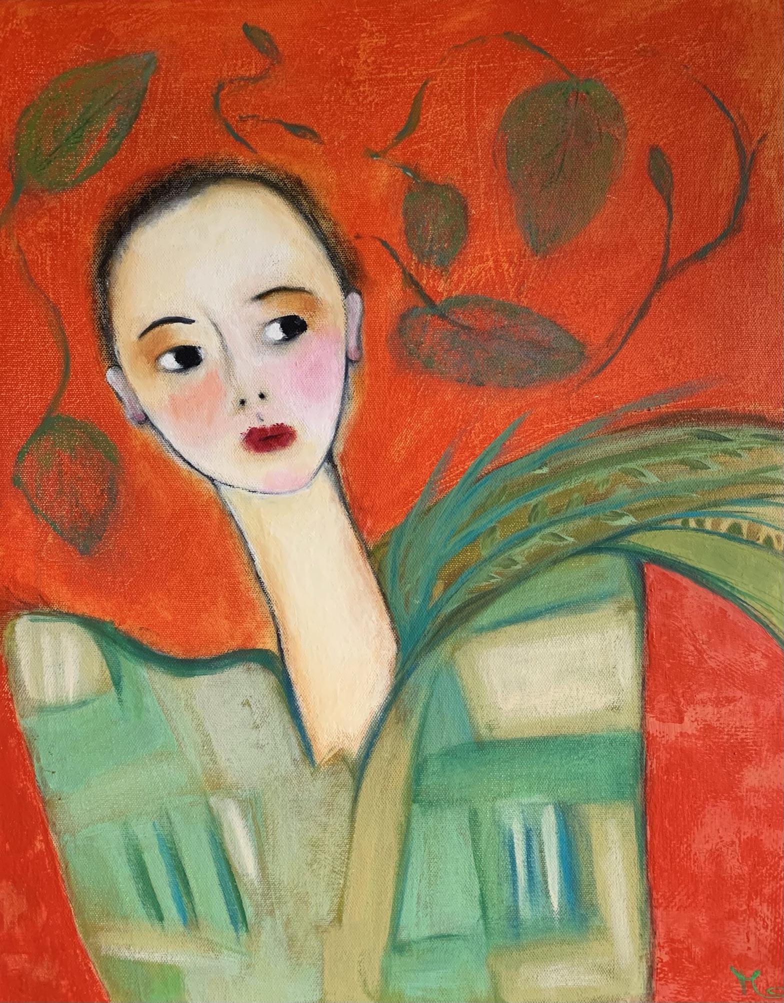Marijke Lambregtse Continuous Muse 42×52.5