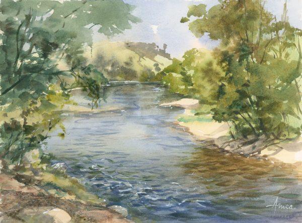 On The Tumut River Al