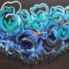 Sapphire Coast 2020 Jen Shewring 143x110cm Acrylic On Canvas