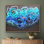 Sapphire Coast – Ltd Ed Print Tasmanian Oak Timber Framed