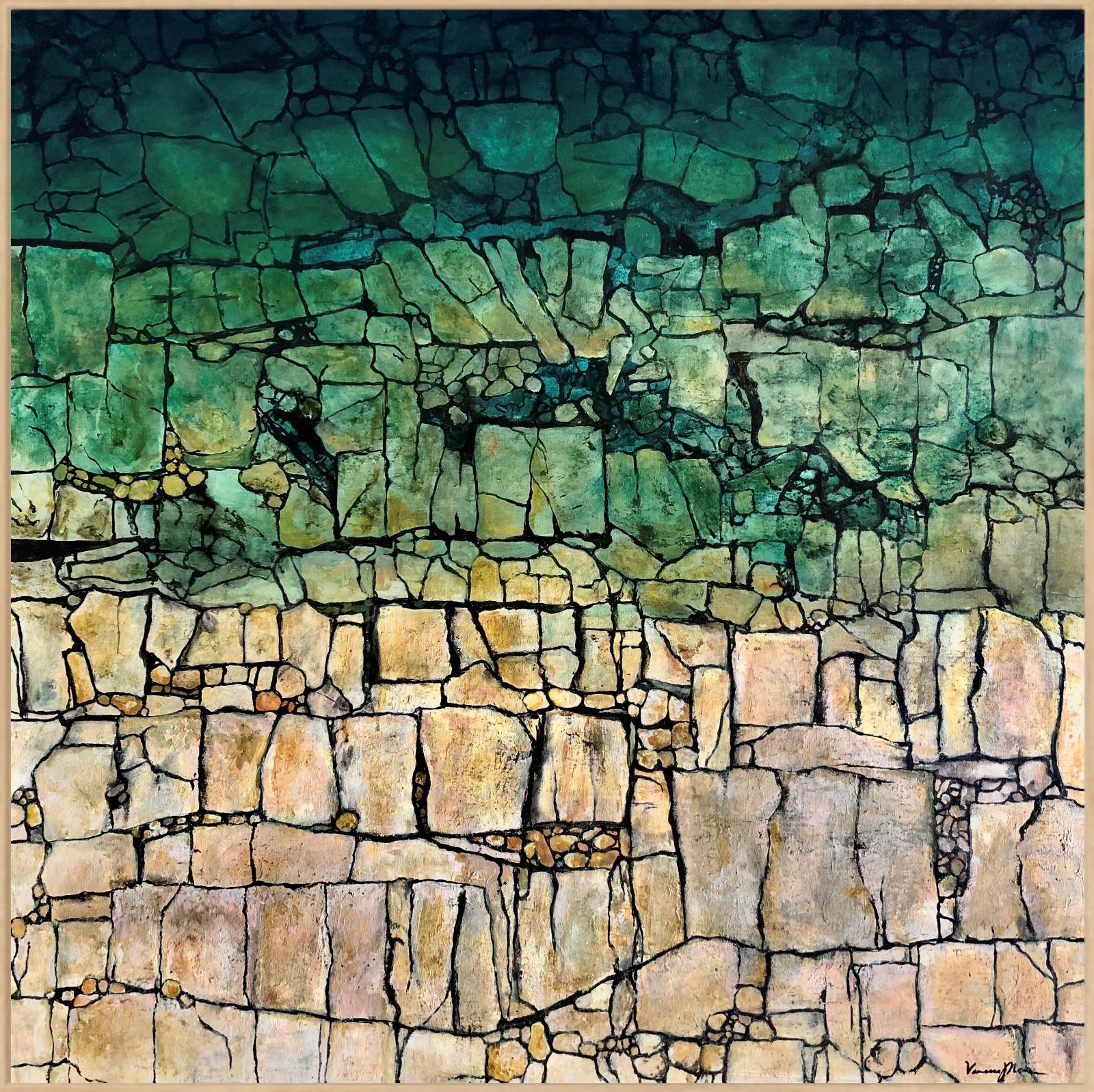 Shallow Mosaic Framed
