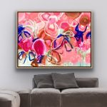 Sugar Sunshine – Large Abstract Flowers