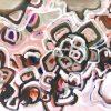 Summer Moon Jen Shewring 130x92cm (canvas Roll 140x102cm) Acrylic On Canvas