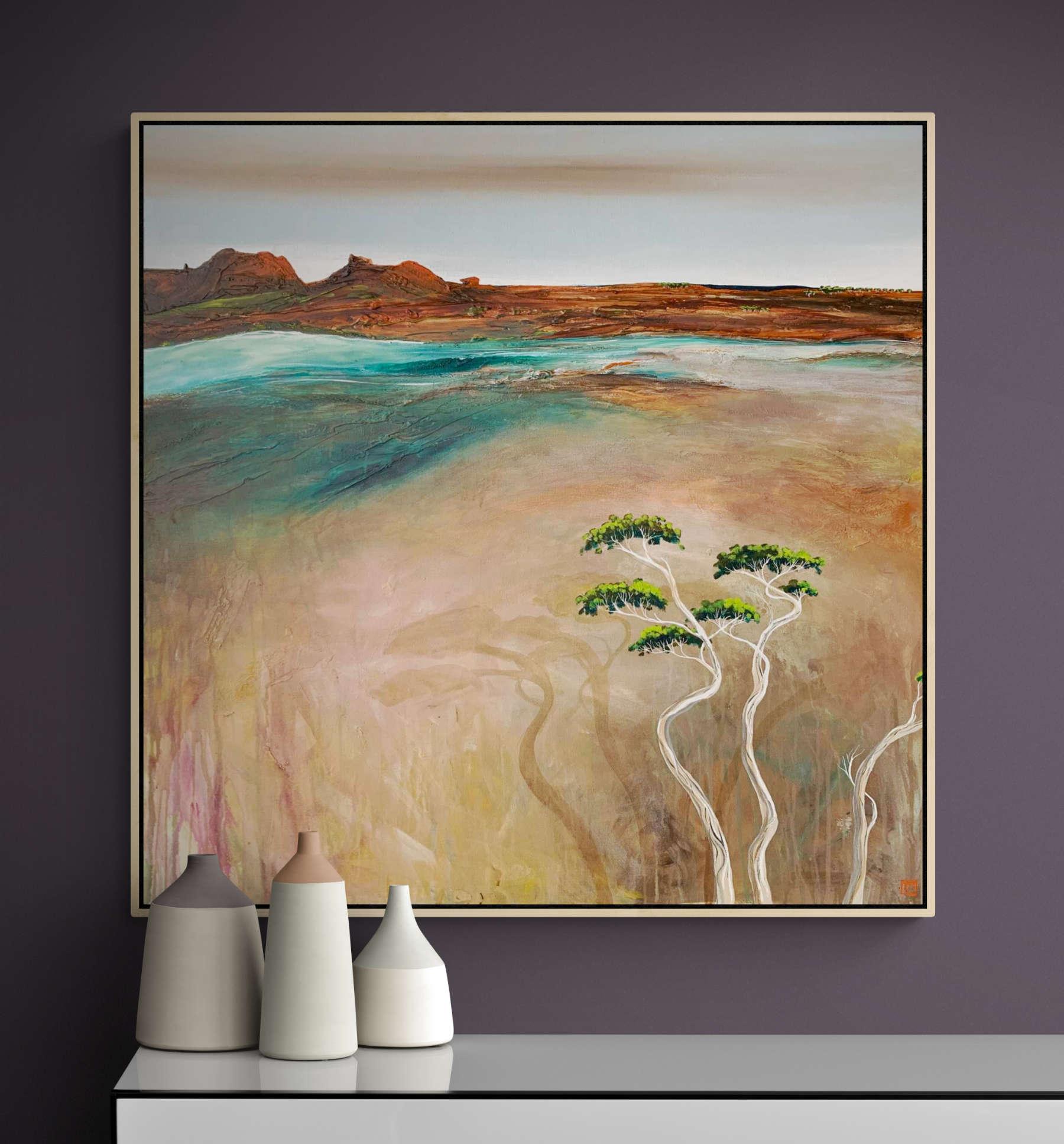 Tania Chanter Daybreak At The Cove Landscape Art