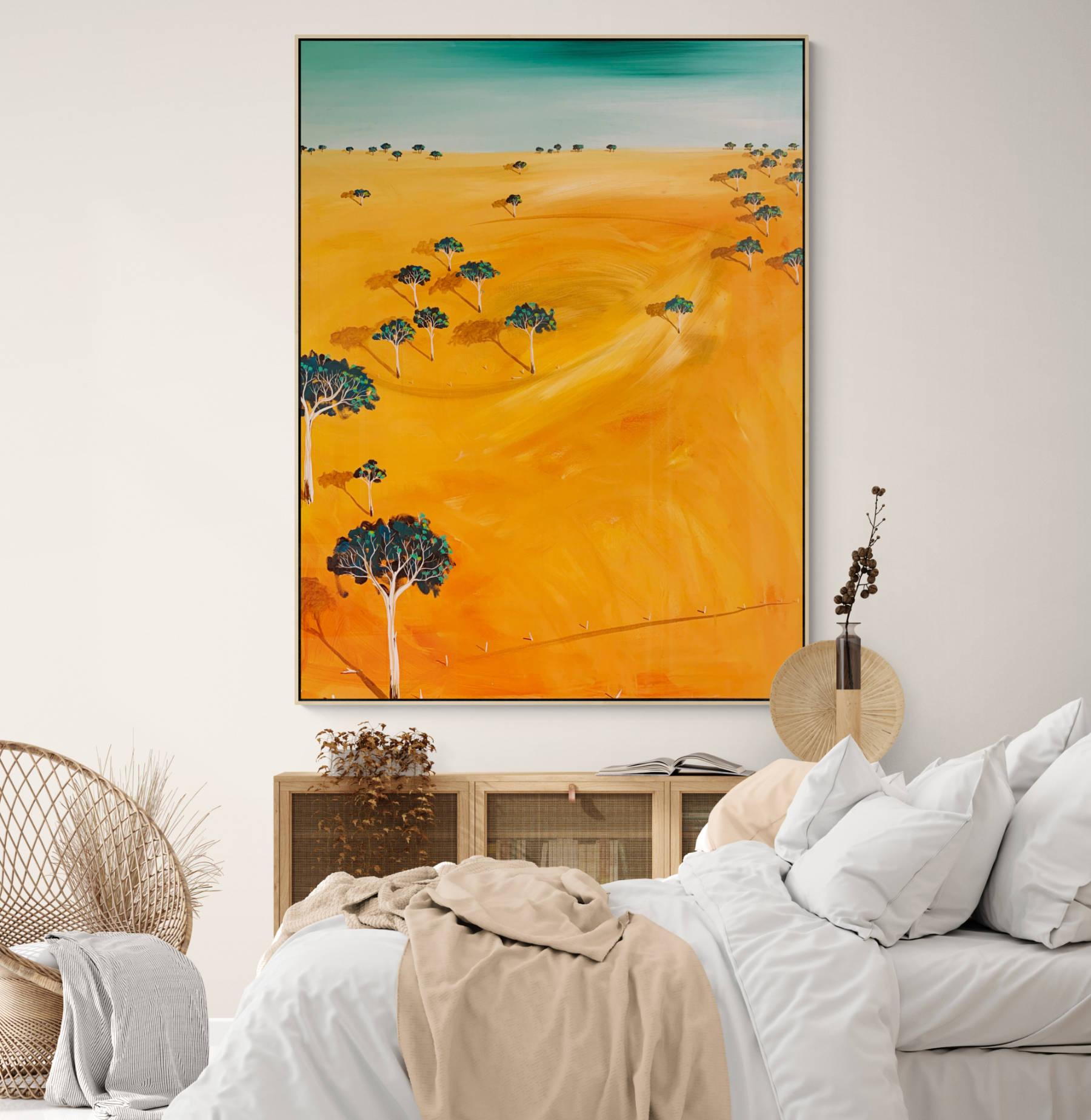 Tania Chanter First Light Landscape Artwork