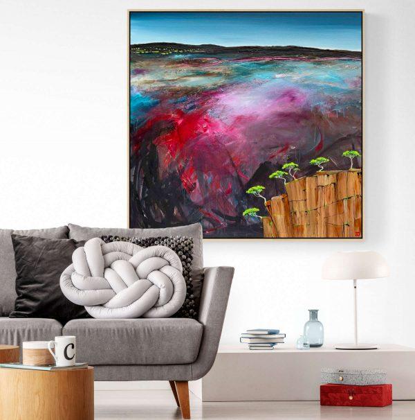 Tania Chanter Hidden Valley Landscape Artwork