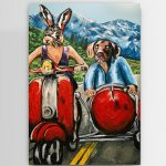 They were outdoor people Ltd Ed Giclee Print