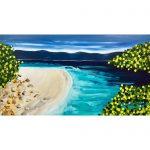 Paradiso- Ocean Beach Abstract