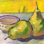 Still life pear pair