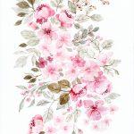 Pink Soft Floral