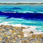 Rocky Shores – Ocean Abstract