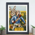 They were a special duo Ltd Ed Giclee Print