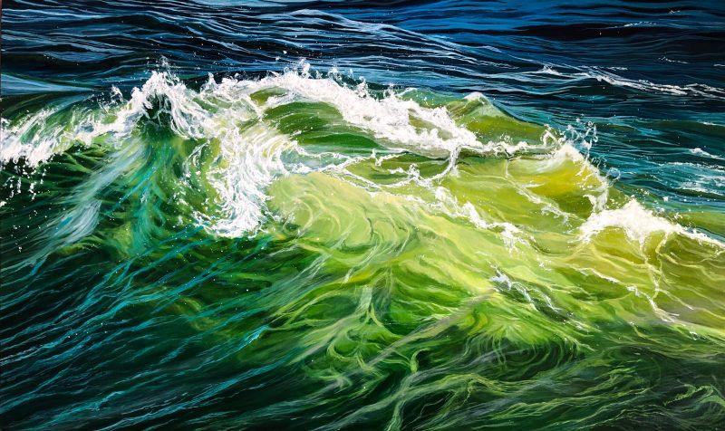 Vanessa Mae Artist Statement Artworks Wild Emerald 800x476