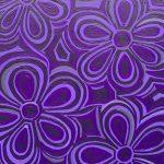 Meditation: Purple Daisies no. 2