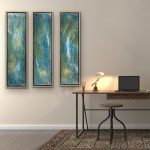 Elysian Visions triptych