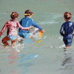 Beach Ball In The Waves II Ltd Ed Print