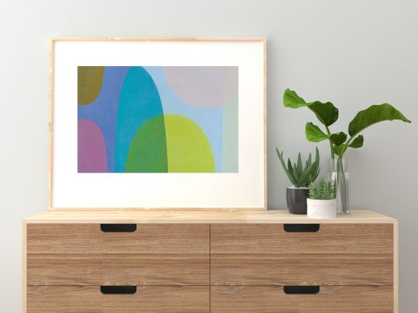 Charlotte De Pace Daydream Insitu Sideboard Art Lovers Australia