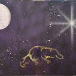 Dulayiwurrang Yanathan Wirrayit Burunth Thuwith (Platypus Swims In The Moonlight)