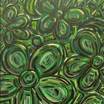 Green Garden Daisies