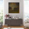 Ivona Radic In Another Time 81x81 Abstract Landscape Insitu Living Room 3