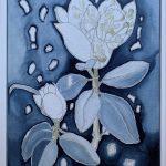 Magnolia and Gum nuts I
