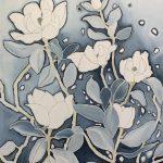 Snowflakes on Magnolias