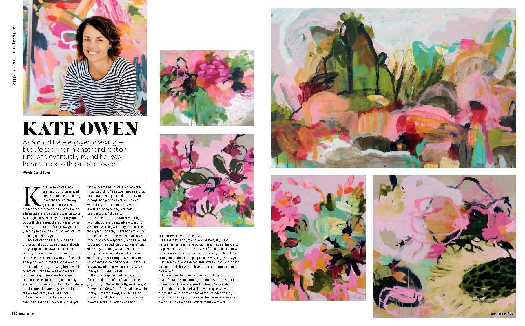 Lhd231 136 137 Artist Prof Kate Owen Ao