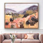 Living The Dream – Tasmanian Oak Timber Framed Ltd Ed Print