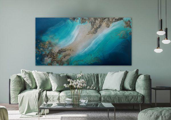 Ocean Artwork Petra Meikle De Vlas1