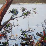Pittwater, view from Barrenjoey track