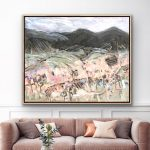 Summer Harvest – Tasmanian Oak Framed Ltd Ed Print