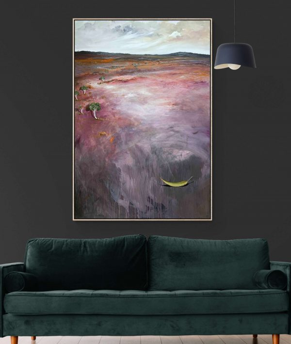 Tania Chanter After The Wind Landscape Art
