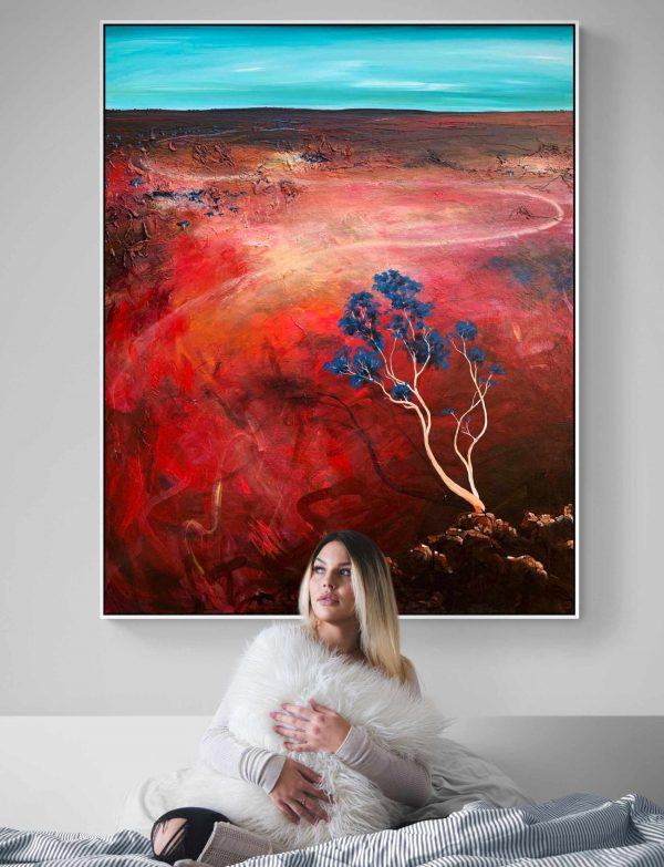 Tania Chanter Blue Wind Large Landscape