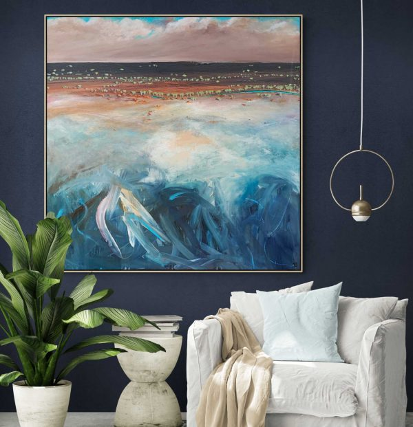Tania Chanter Miles From Home Landscape Original