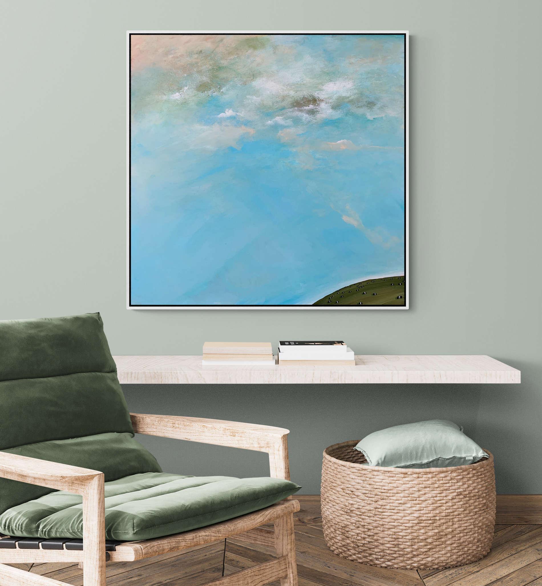 Tania Chanter Pasture Skies Landscape Artwork