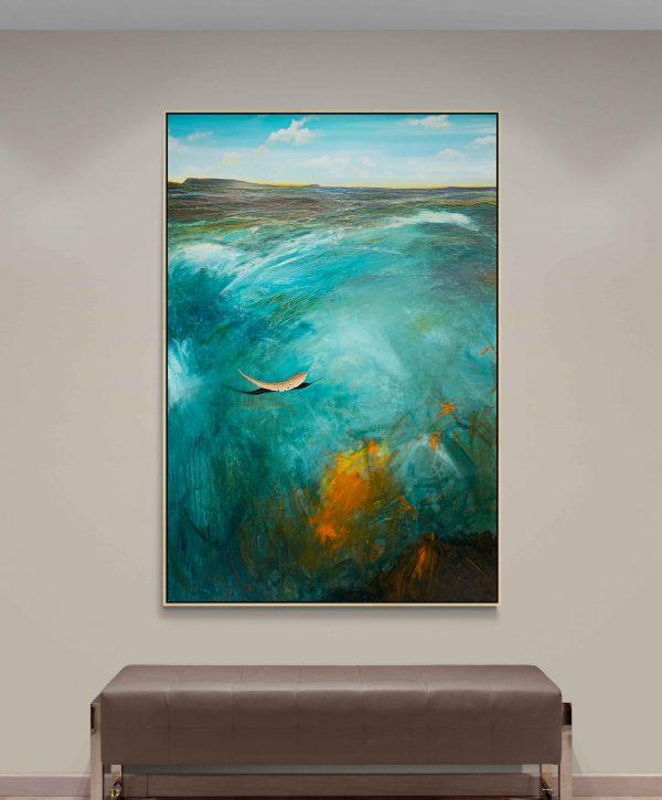 Tania Chanter The Bay At Dusk Landscape