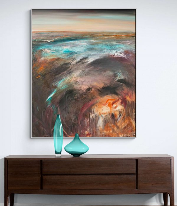 Tania Chanter The Lonely Sea Landscape Art
