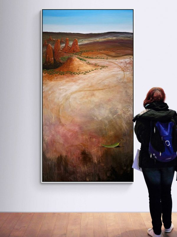 Tania Chanter The Long Way Home Large Landscape