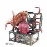 Time Maiden – art doll sculpture