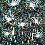 Flowers – Dried Agapanthus Abstract – SOLD