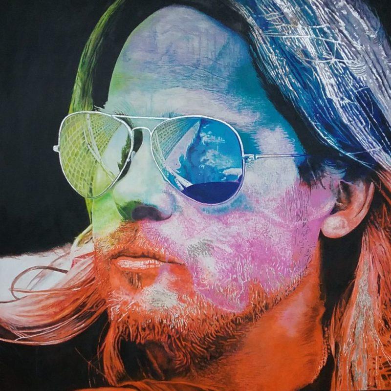 Andrew Causon Artist Portraits Brad Art Lovers Australia