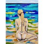 Beach Bum – Nude Woman Beach/Ocean
