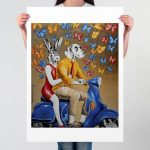 They were on a Golden Mission Ltd Ed Giclee Print