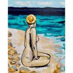 Nudey Beach 1 – Nude Woman Beach/Ocean