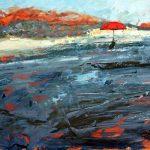 Red Umbrella Landscape