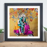 We are Gold Baby, Solid Gold Ltd Ed Giclee Print