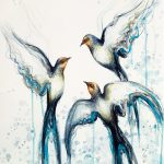 Flight of the Swallows (A3 Limited Edition 1 of 50)